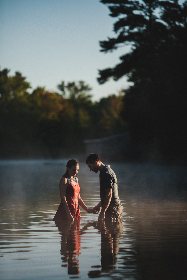 Cottage Engagement Shoot