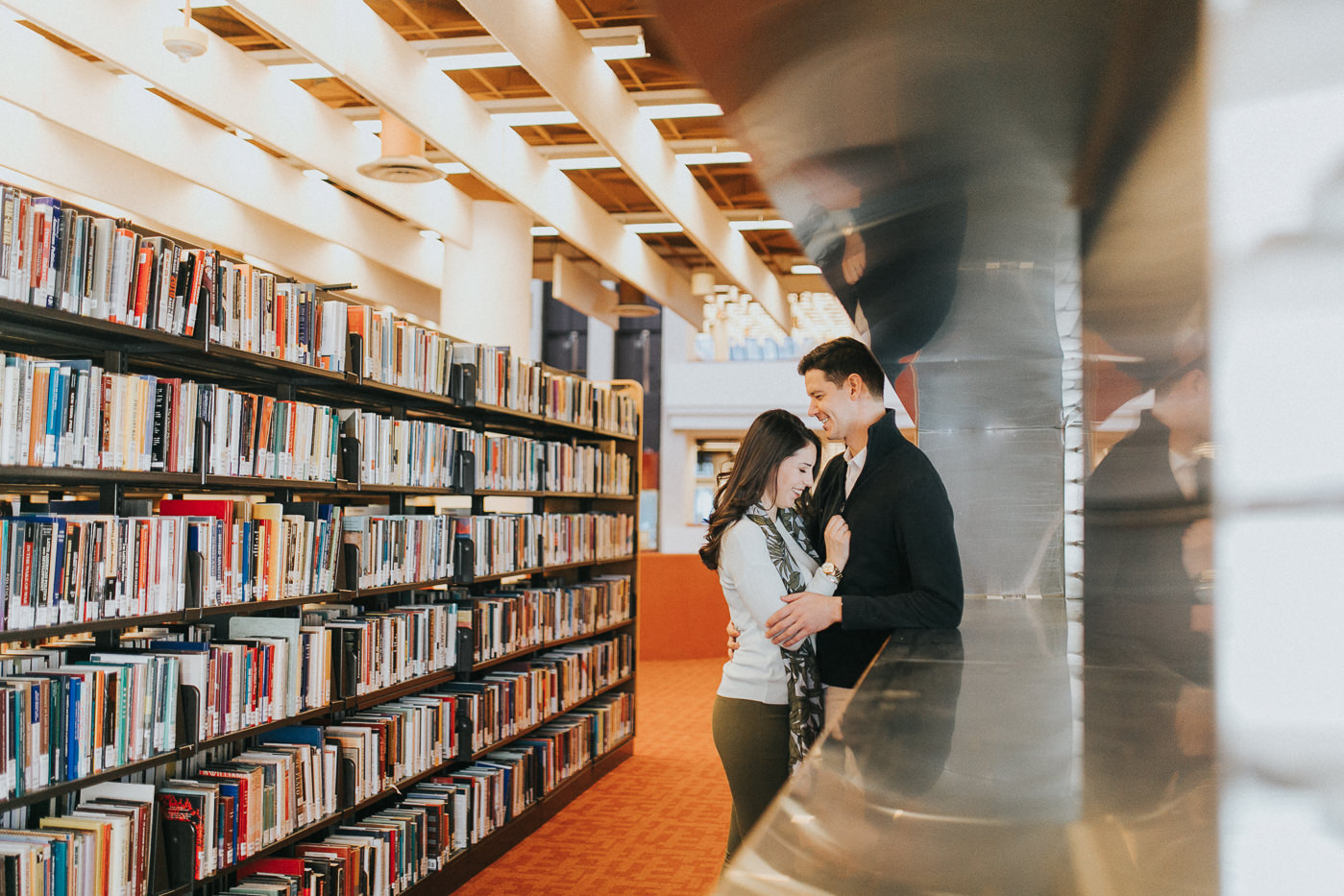 toronto public reference library engagement shoot-7