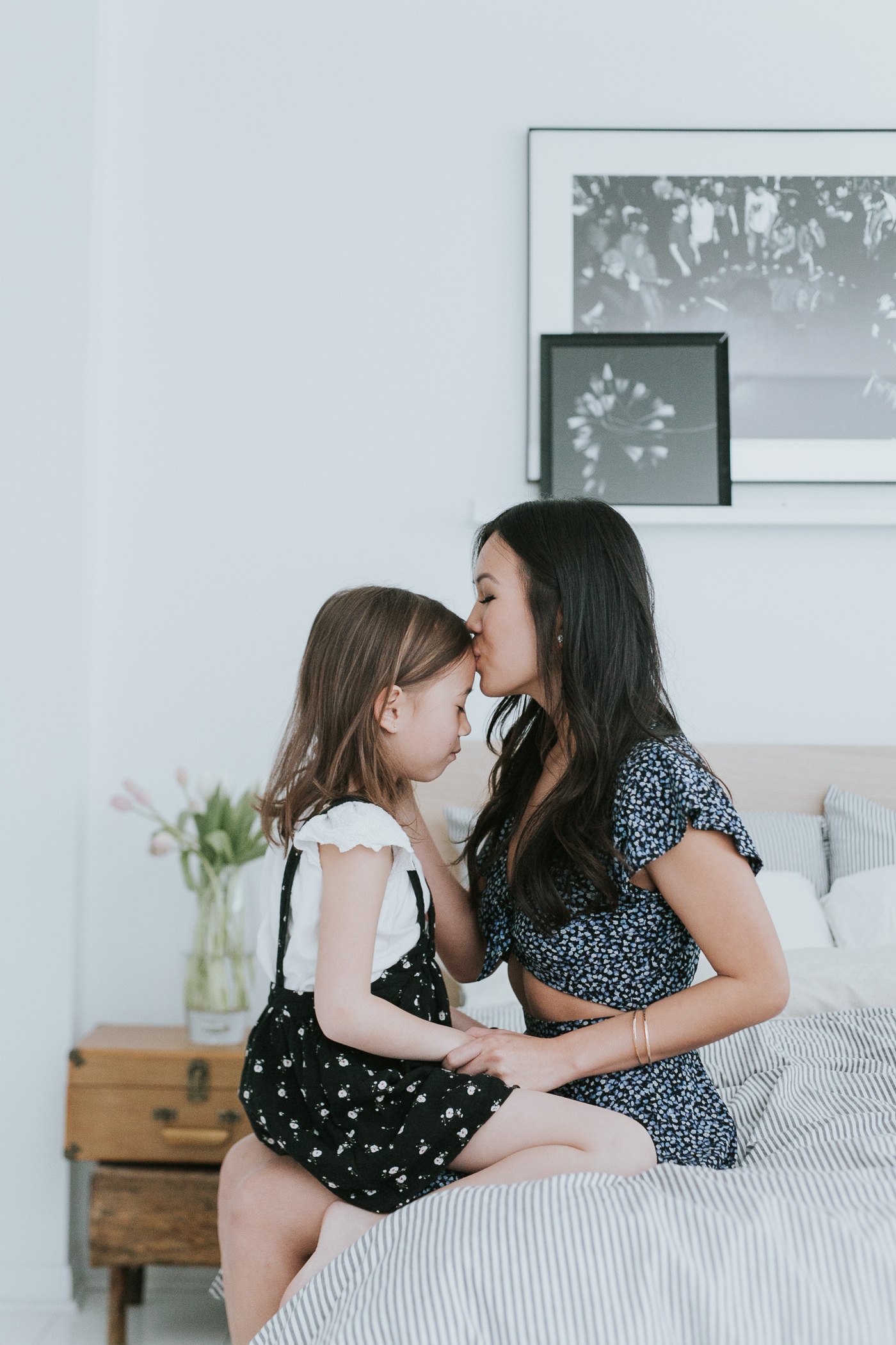 toronto loft family portrait with mother & daughter-16