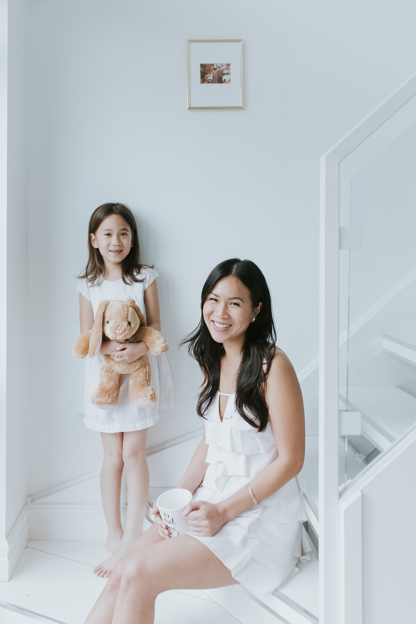toronto loft family portrait with mother & daughter-23