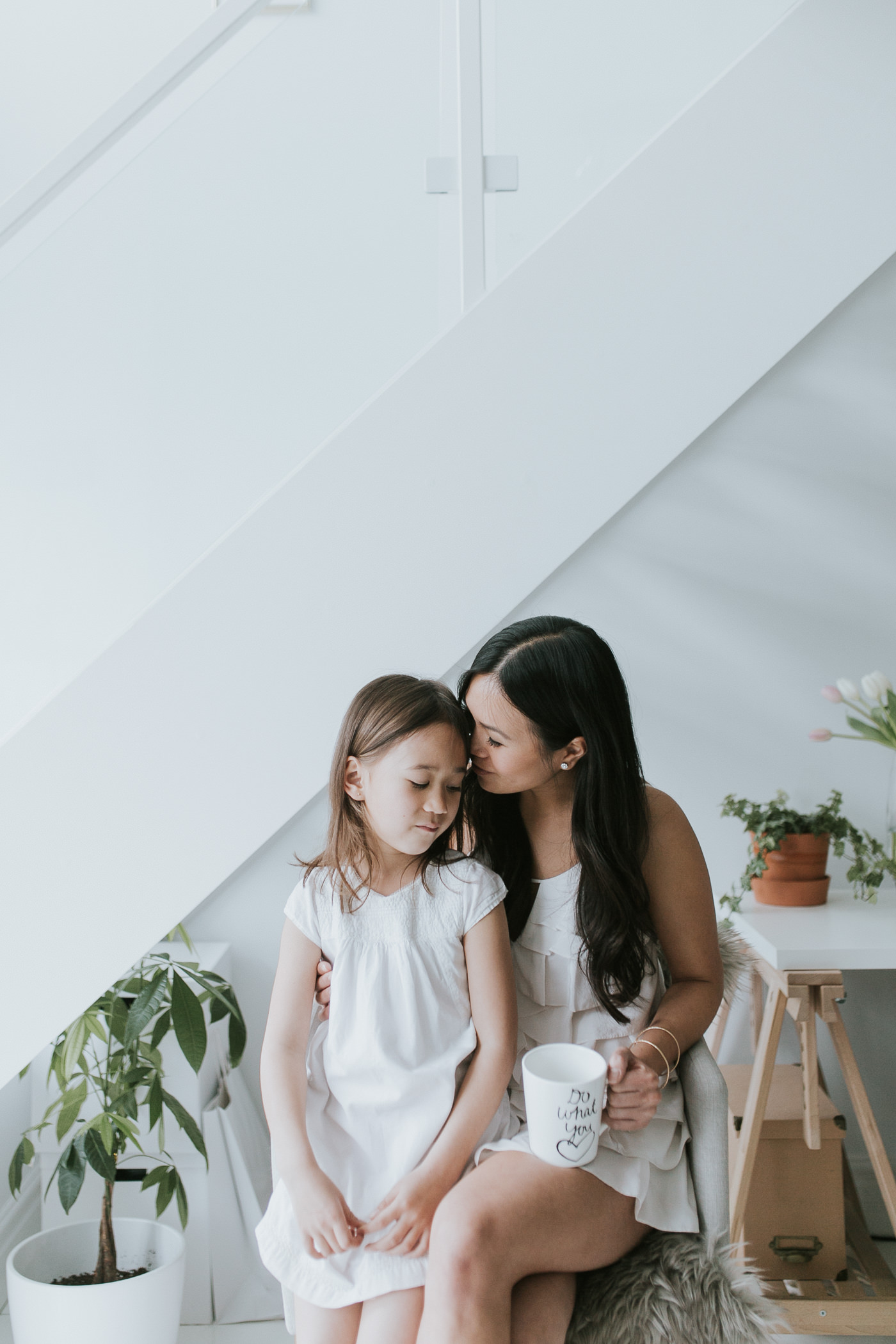 toronto loft family portrait with mother & daughter-24