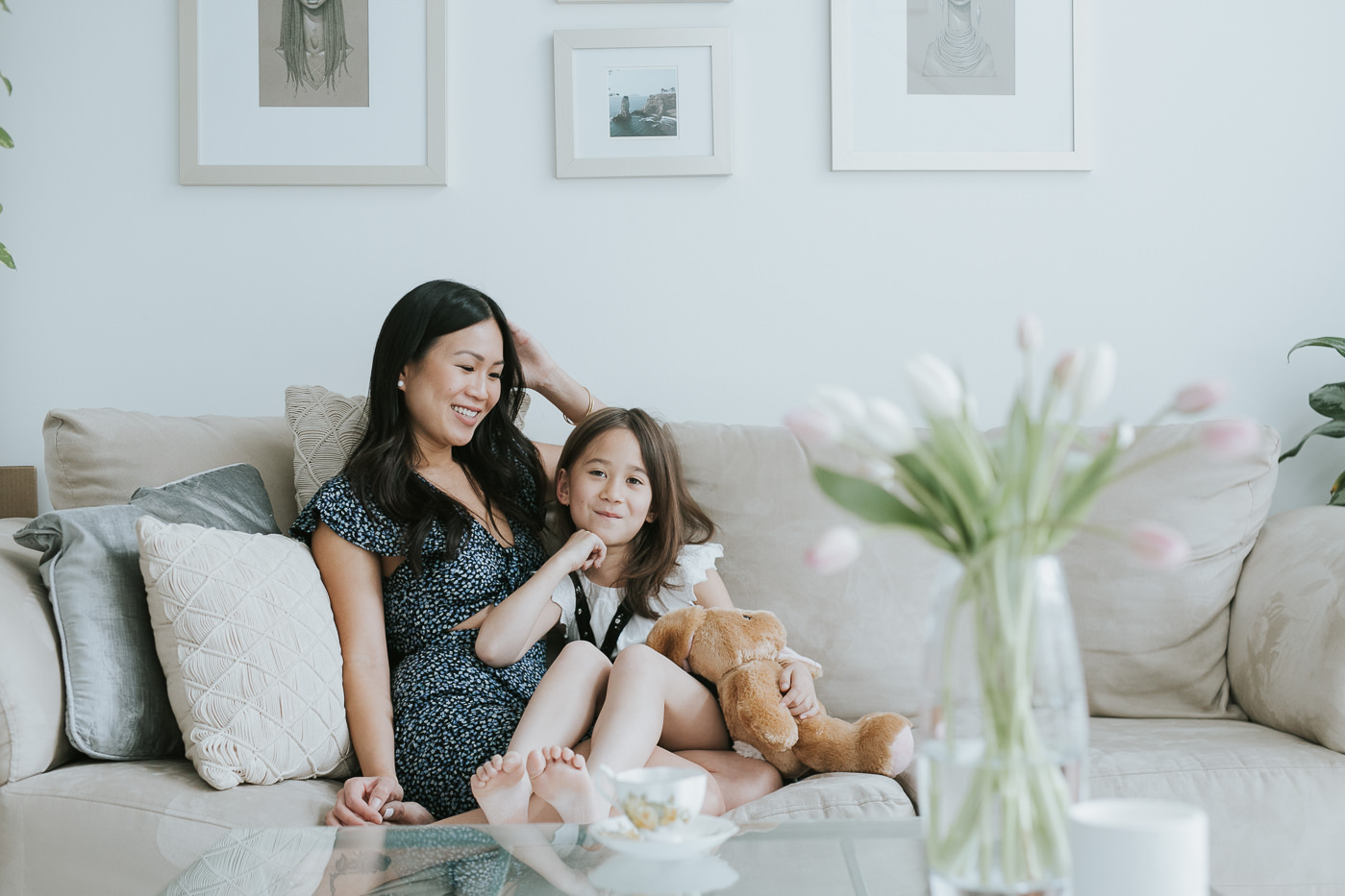 toronto loft family portrait with mother & daughter-4