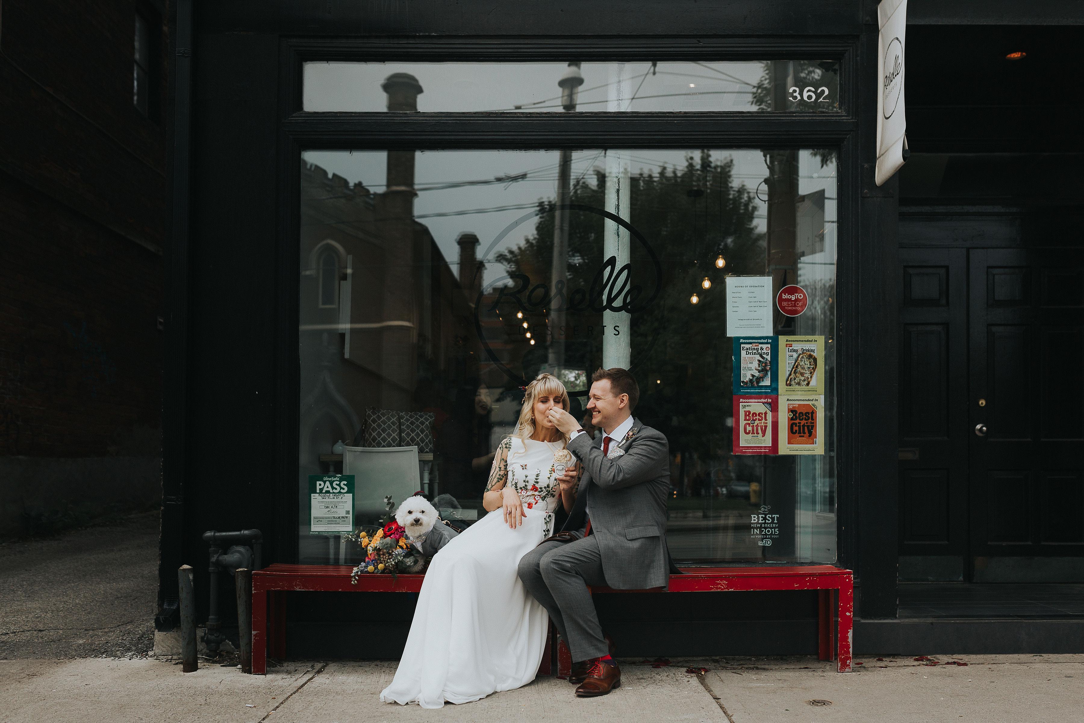 Testimonial photo for Alyssa & Andrew Wedding